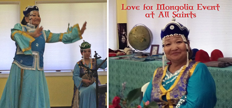 love for mongolia all saints episcopal franklin nc